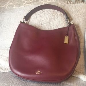 Coach Glovetanned Leather Nomad Hobo.